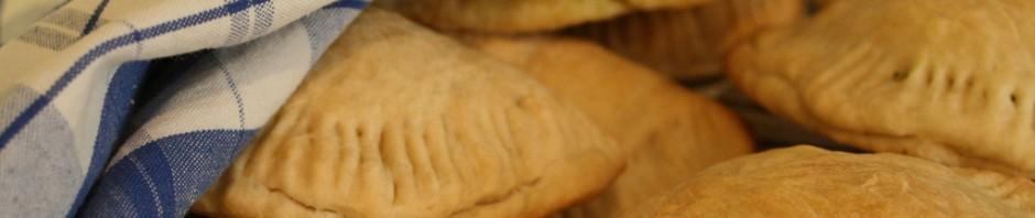 Piroger med spenattofu och örter