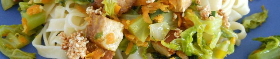 Savoykålswok med tofu